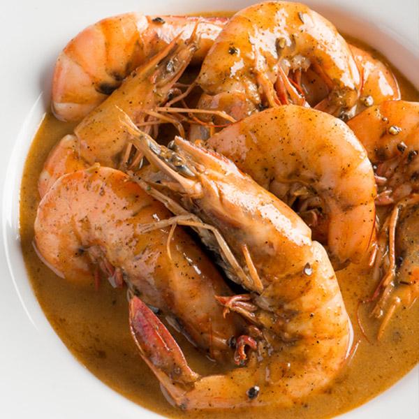 Bbq Shrimp Recipe New Orleans Recipes Mr B S Bistro