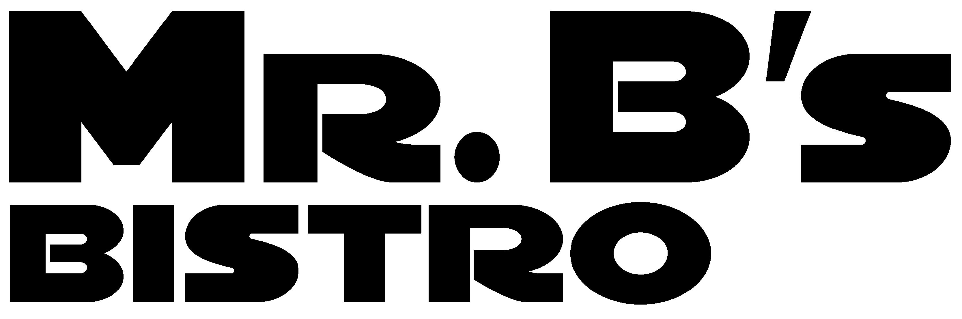media logos mr b 39 s bistro. Black Bedroom Furniture Sets. Home Design Ideas